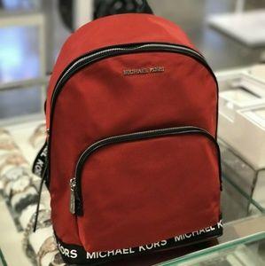 Michael Kors Sport Connie Nylon Chili Backpack